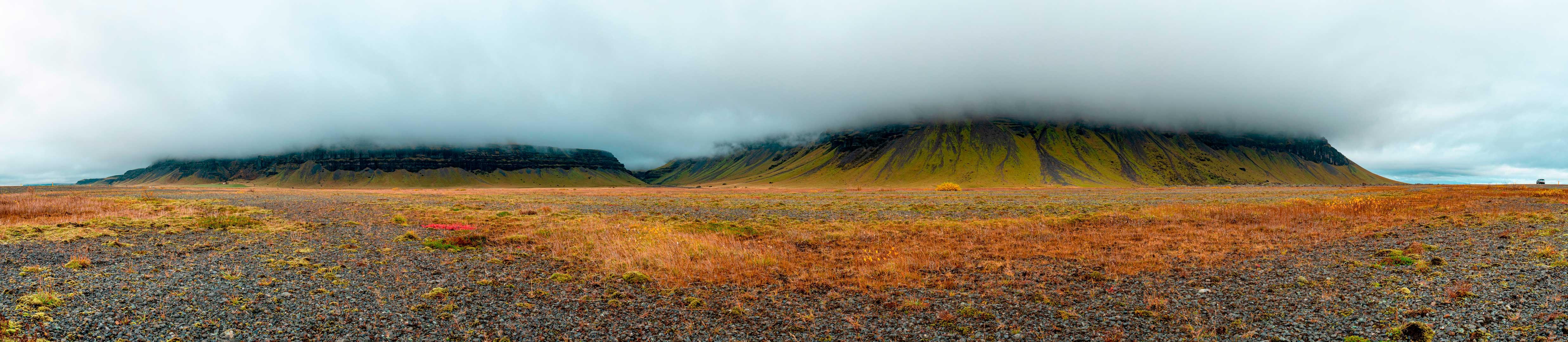 Montagnes islandaises